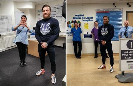McGregor vuelve a donar dinero, a un hospital de niños, durante el coronavirus