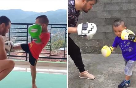 El niño boxeador de solo 5 años que ha sorprendido al mundo con su calidad