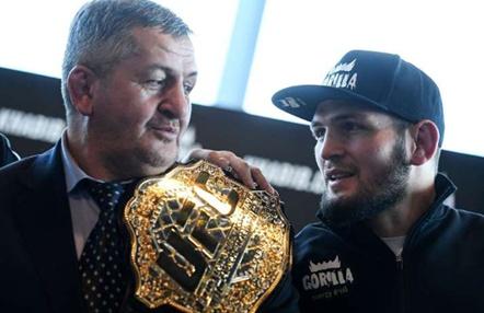 Muere el padre y entrenador de Khabib Nurmagomedov por coronavirus