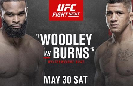 Woodley vs. Burns en UFC Fight Night Las Vegas