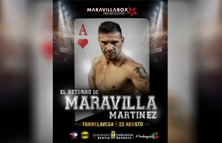 Sergio 'Maravilla' Martínez regresará el 22 de agosto