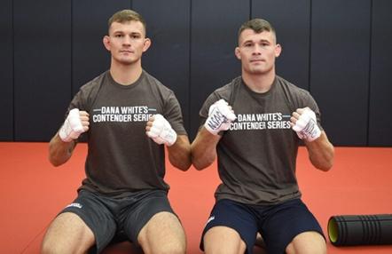 Los hermanos Cosce consiguen su sueño: contrato con UFC