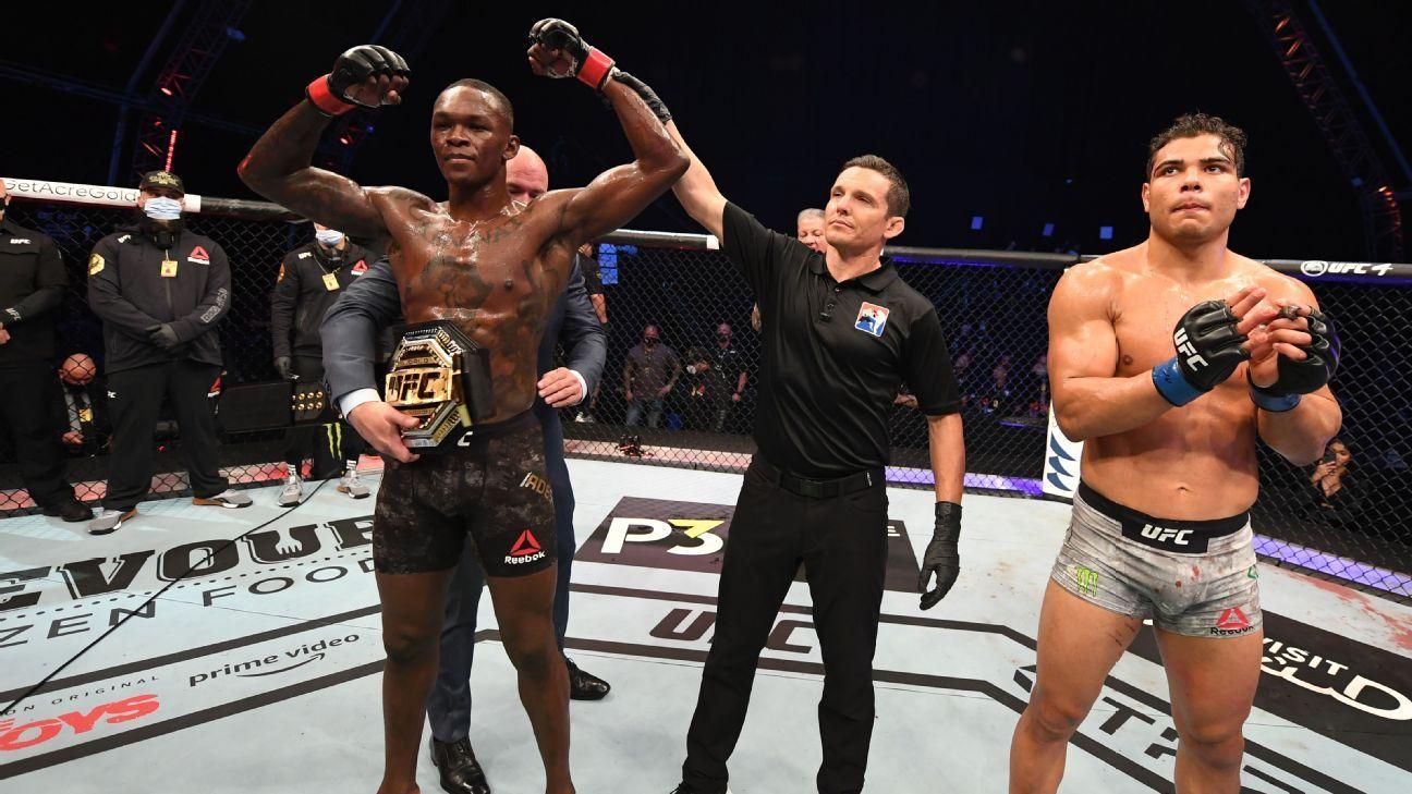 UFC 253, Adesanya y Blachowicz imponen su ley.